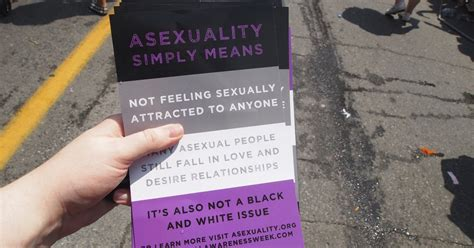 Asexuals increasingly part of pride month