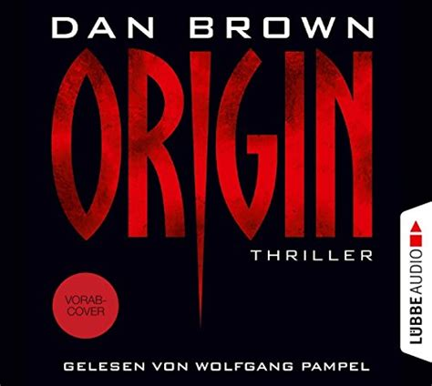 Origin - Dan Brown - hoerbuch-thriller