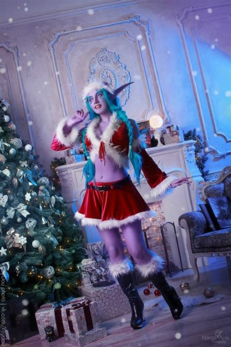 Sexy Night Elf Cosplay From WoW