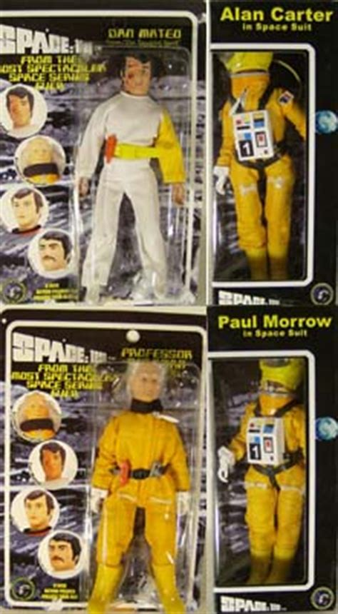 """Space 1999 8"""" Mego Reissue - Series 4 Set of 4 (MOC"""