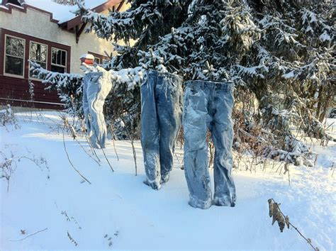 It's So Cold In Minnesota That Even Ghosts Started Wearing