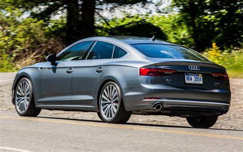 2018 Audi A5 Sportback (US) - Wallpapers and HD Images