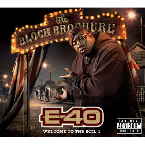 E-40 – Block Brochure: Welcome To The Soil Vol