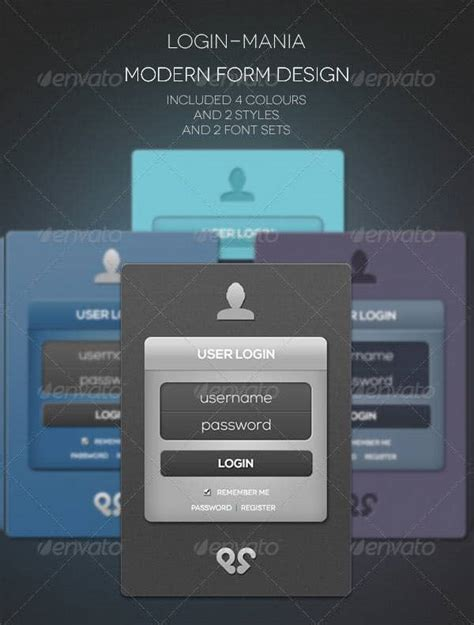 29+ Remarkable HTML & CSS Login Form Templates Download