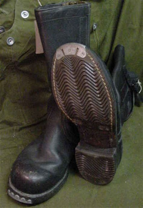 Wehrmacht boots — starting with the right outdoor-clothing