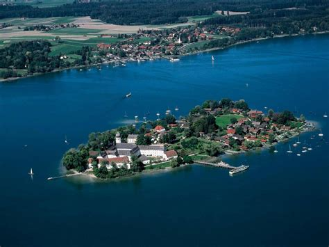 Chiemsee-Inseln | Fraueninsel und Herreninsel im Chiemsee