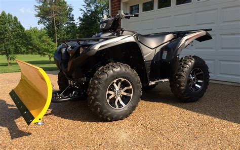 2016 winch and plow set up - Yamaha Grizzly ATV Forum