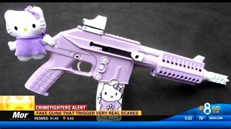 Fake guns that trigger very real scares - CBS News 8 - San
