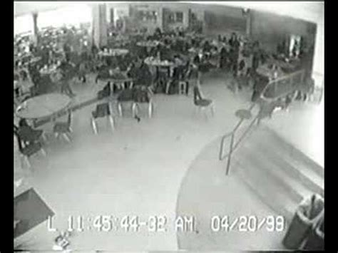 Columbine Footage - Cafeteria - YouTube