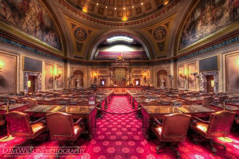 Senate Chamber, Minnesota State Capitol | I'm used to the