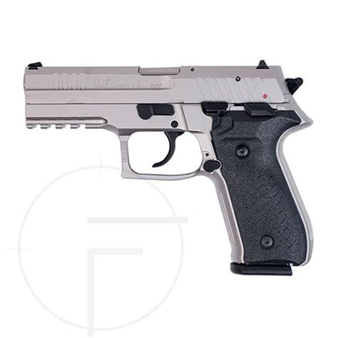 Rex Zero 1 Standard Nickel Plated 17 Round 9mm Pistol at K-Var
