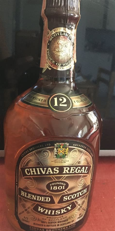 Chivas Regal Scotch Whisky With Stamp | Drinks Planet