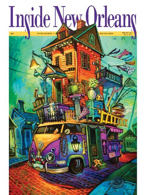April-May 2017 Issue of Inside New Orleans by Inside