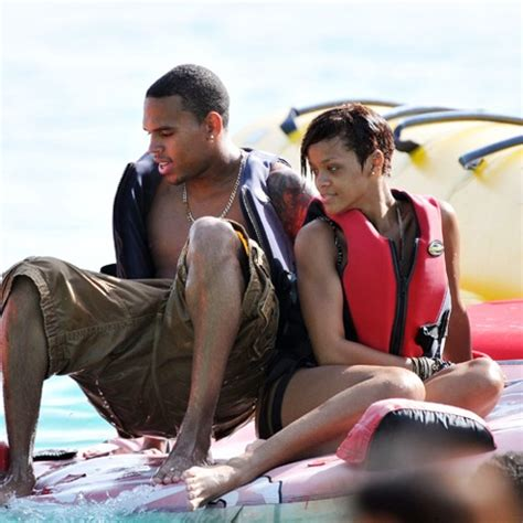 Boo'd Up ~ Rihanna & Chris Brown in Barbados - Straight