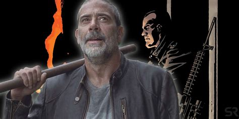The Walking Dead TV Show Can't Give Negan His Comic Book