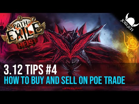 How to use Procurement in POE to sell items on POE