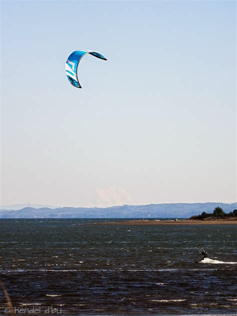 The Wind and Waves: Kitesurfing at Damon Point