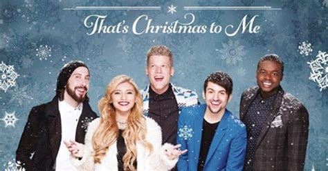 Pentatonix Releases That's Christmas to Me - My Merry