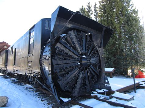 Colorado and Southern Engine 9 and the Rotary Snowplow