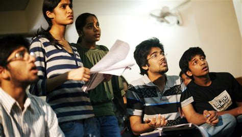 Indian Students Wield Tests for College Spots - The New