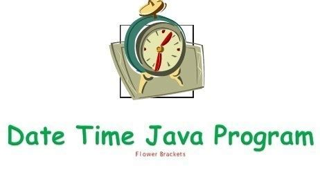 How to get current date and time in java - Flower Brackets
