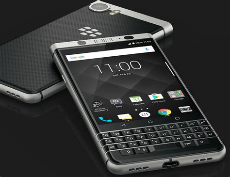 Blackberry unveils an Android smartphone with iconic