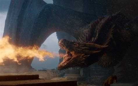 Where did Drogon take Daenerys in the Game of Thrones