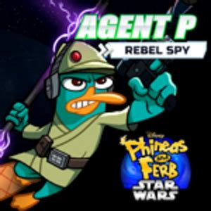 Phineas and Ferb (Star Wars) Agent P: Rebel Spy Play Game