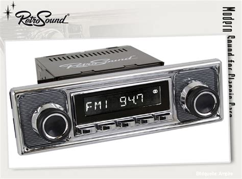 "RETROSOUND Autoradio Set Model ""San Diego"", DAB+ , Becker"