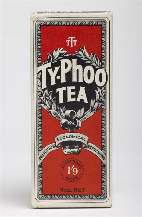 Packet of Typhoo Tea   During the early 20th century