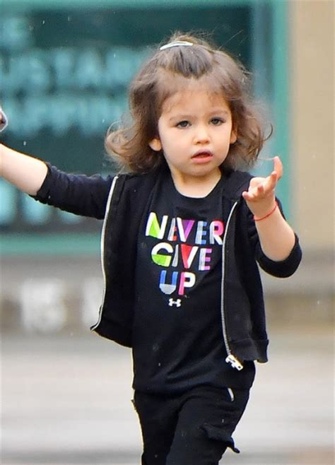 Mila kunis took a two year old daughter to the nail salon