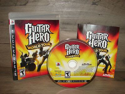 GUITAR HERO WORLD TOUR (GAME ONLY) Playstation 3 PS3