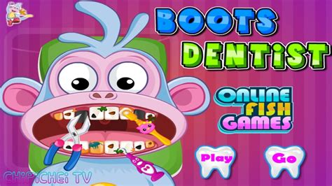 Play dentist games