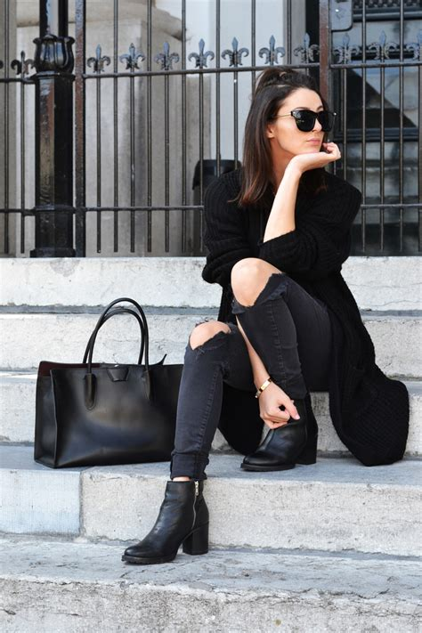 All Black Outfits - You Can't Really Go Wrong - Just The