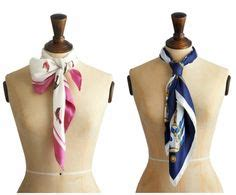 Scarfs, Knots and Tie a scarf on Pinterest