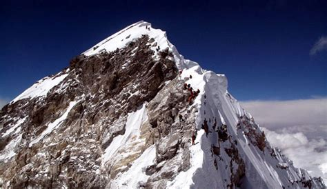 Mount Everest's Hillary Step Collapsed | The Inertia