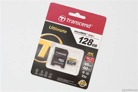 128GB Transcend Ultimate UHS-I U3M microSD Review