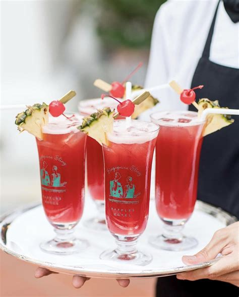 The Singapore Sling: The Story Behind Singapore's Iconic