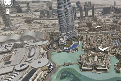 Google's Street View maps the world's tallest building