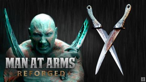 Drax's Daggers Guardians of the Galaxy | Man At Arms