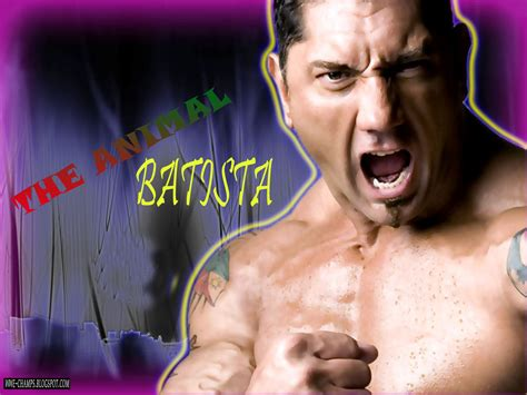 WWE CHAMPS: 'THE ANIMAL' DAVE BATISTA BOMB