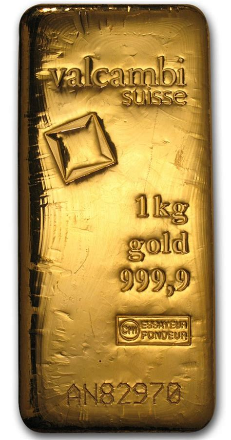 LBMA Good Delivery Gold Bar 1kg - GoldSilver Central Pte Ltd