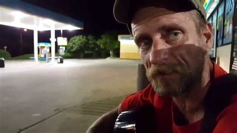 Homeless guy spits some truth