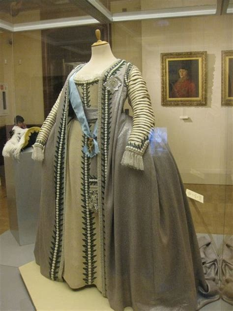 1770s Ceremonial gown of Empress Catherine II of Russia
