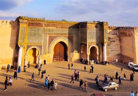 Meknes and Oualili   College Study Abroad   CIEE