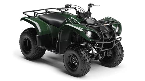 2013 Yamaha Grizzly 125 Review - Top Speed