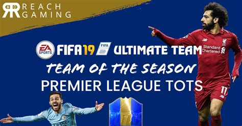 FIFA 19 Ultimate Team - Premier League TOTS (Team of the