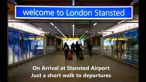 Stansted Departures and Arrivals - YouTube