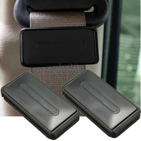 2 x Seatbelt Clip Seat Belt Buckle Adjuster Support Safety