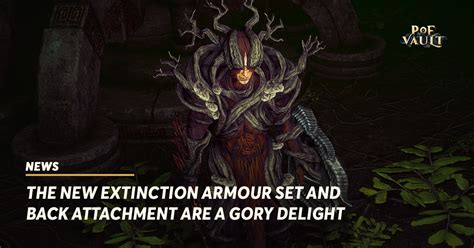 The New Extinction Armour Set and Back Attachment Are a